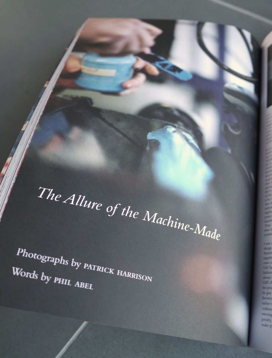 The Allure of the Machine-Made by Phil Abel and Patrick Harrison
