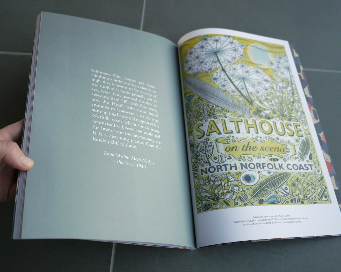 Salthouse by Angie Lewin