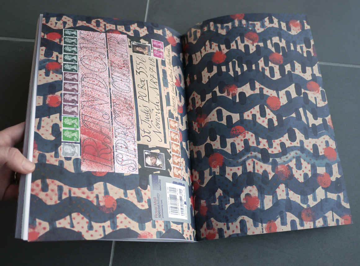 Endpapers by Mark Hearld and Emily Sutton