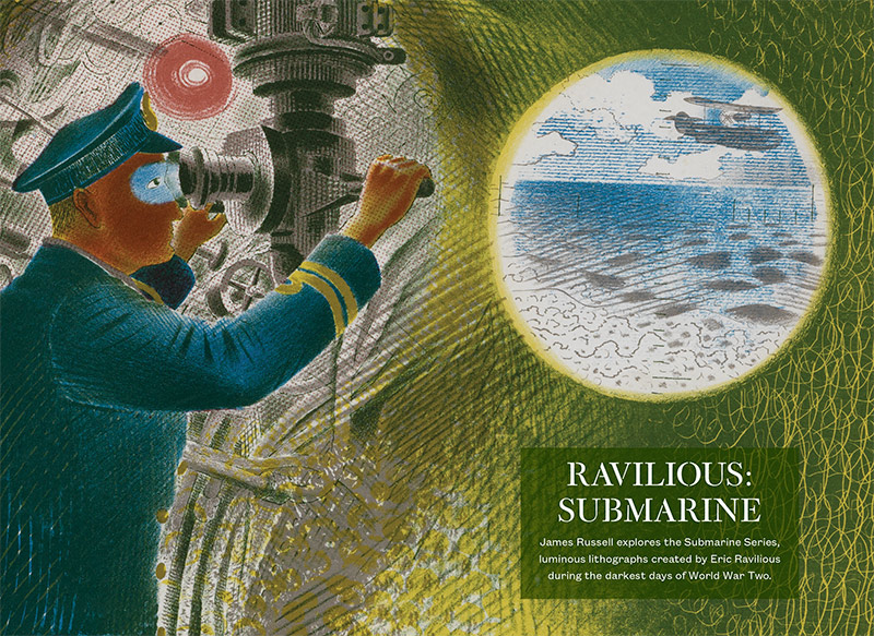 Ravilious: Submarine by James Russell