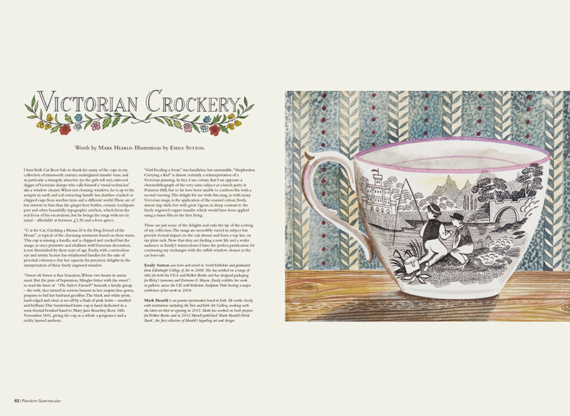 Victorian Crockery by Mark Hearld and Emily Sutton