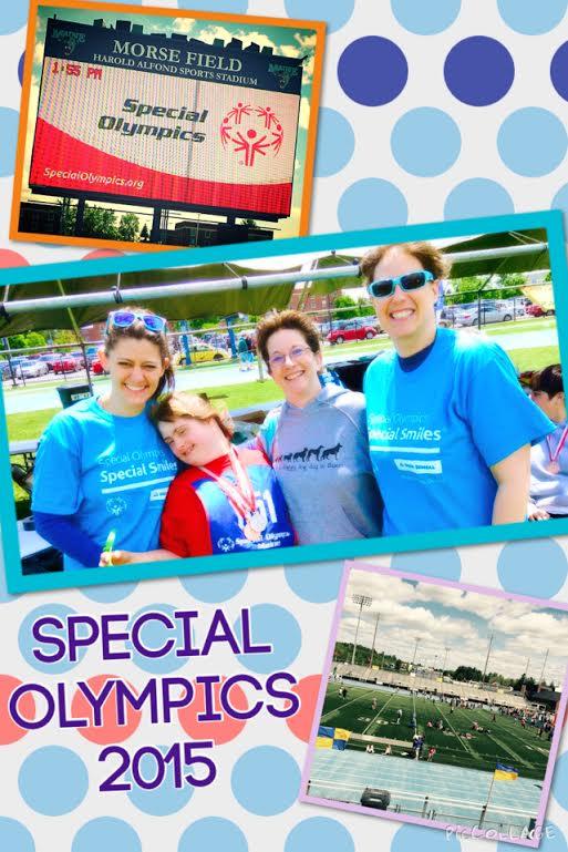 volunteer special olympics