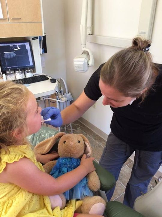 First dental check-up