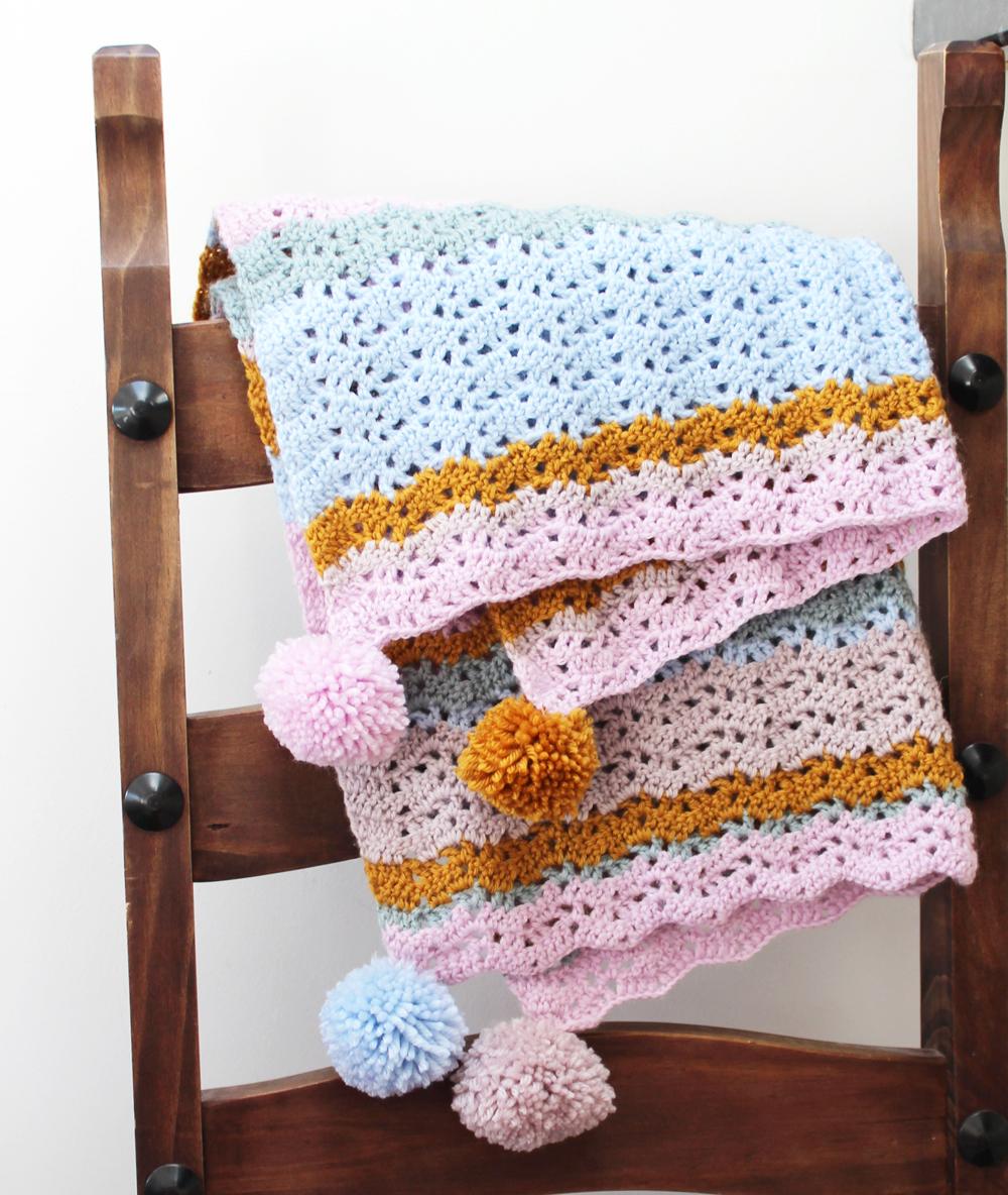lacy crochet ripple free pattern