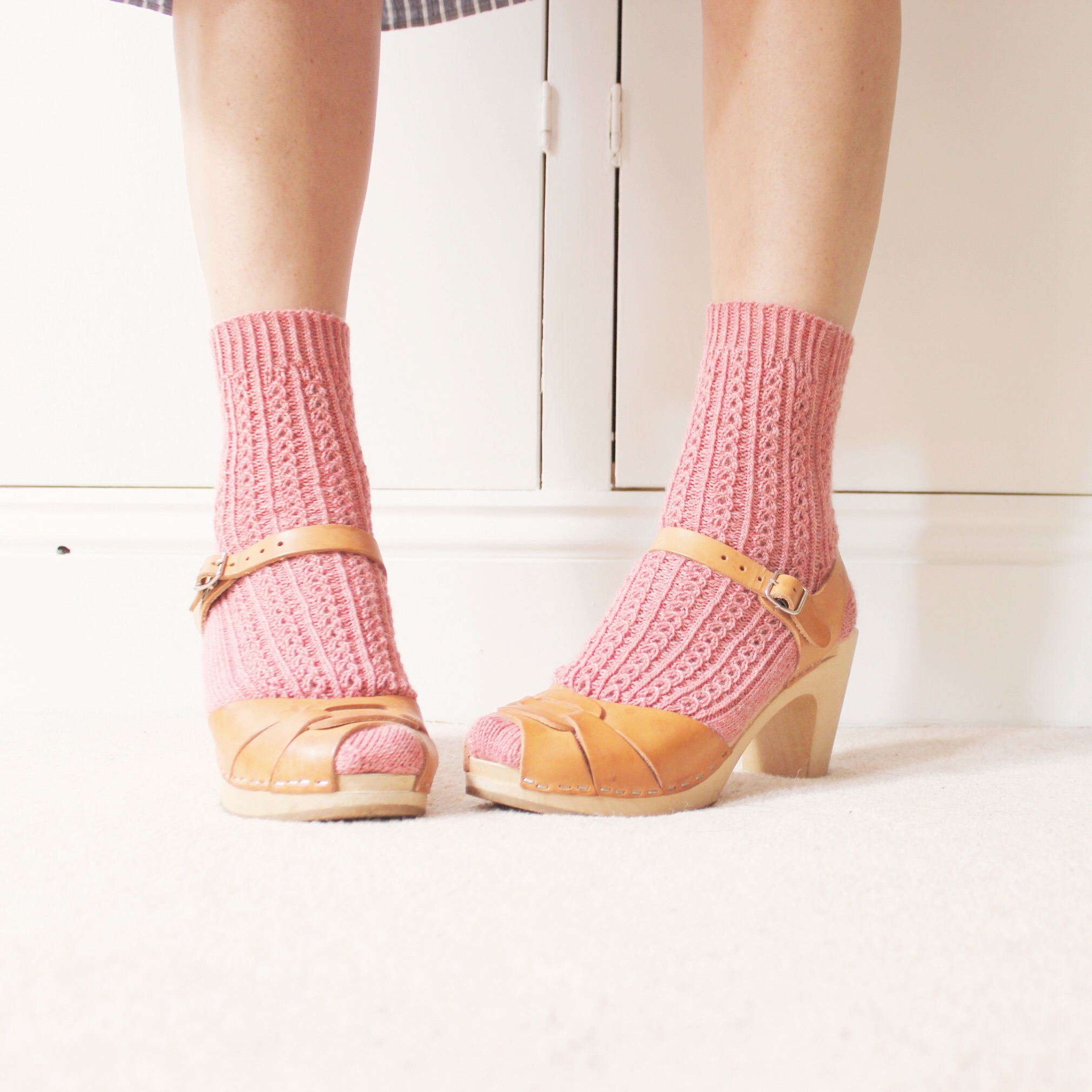 open - The most gorgeous vintage sock pattern is now available as a single pattern or part of Hanging Rock Designs vol.1.