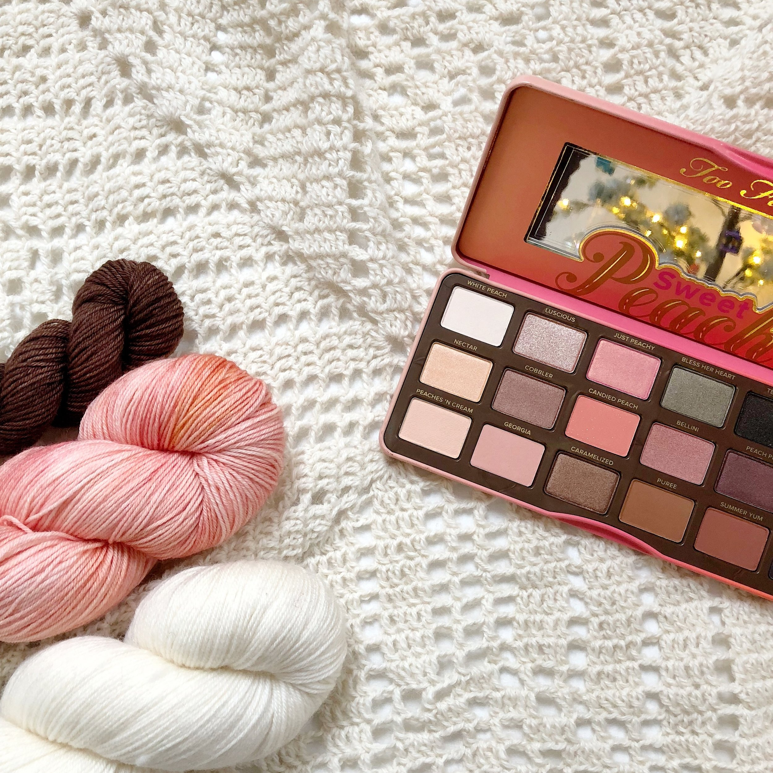 sweet peach palette - too faced cosmetics