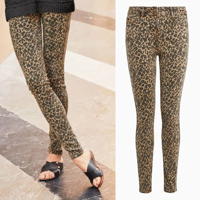 Just arrived!  Show your wild side (see what we did there 😁) in these ex Next stylish, soft touch skinny leopard print jeans 🐆🐾 Colours price £18.00 😍 Available in sizes 6-20.  Available on all upcoming summer shows. Subject to availability.  #leopardprint #jeans #skinnyjeans #fashionshows #fundraising