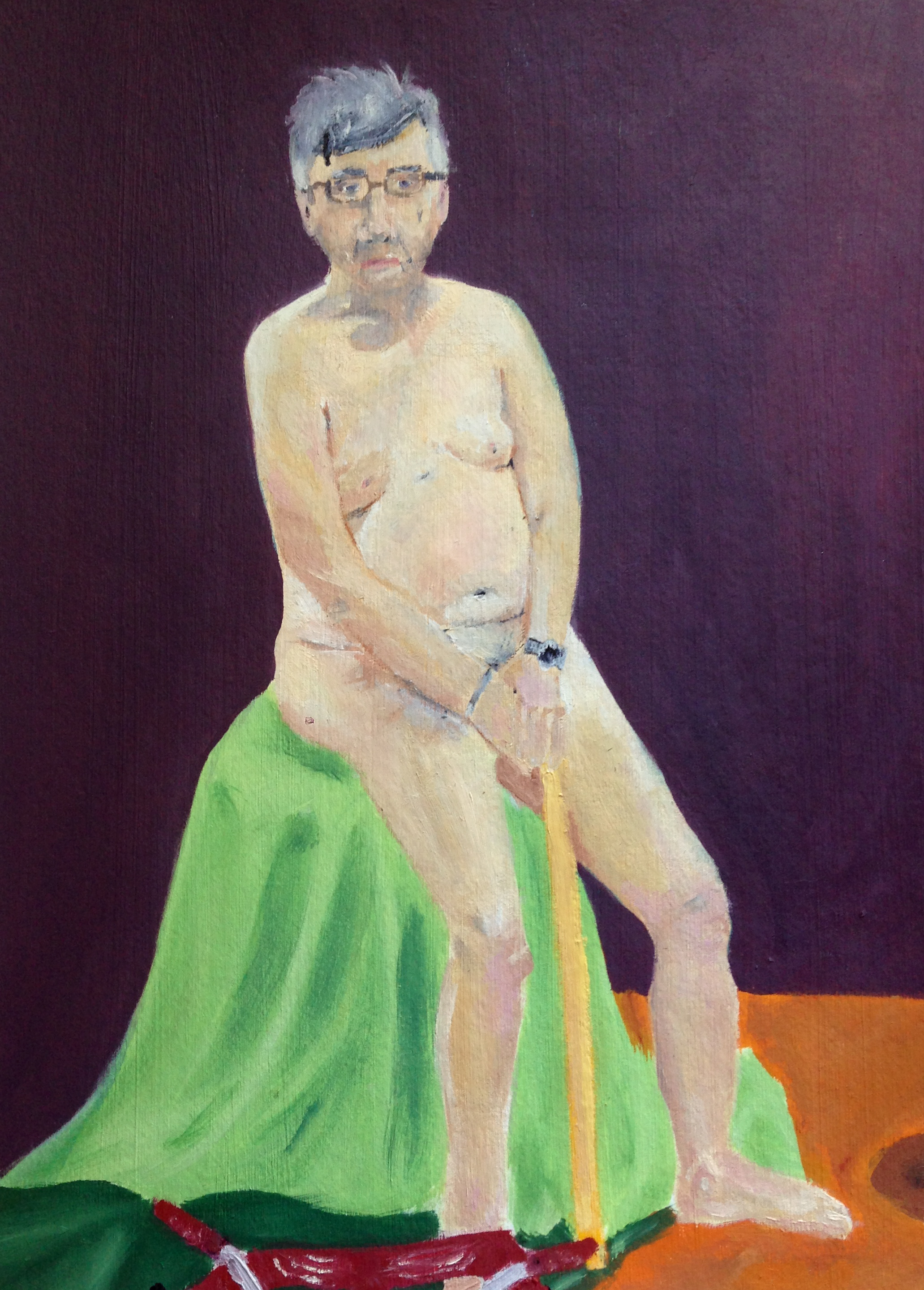2013 | Oil on Paper    [Figure Study]
