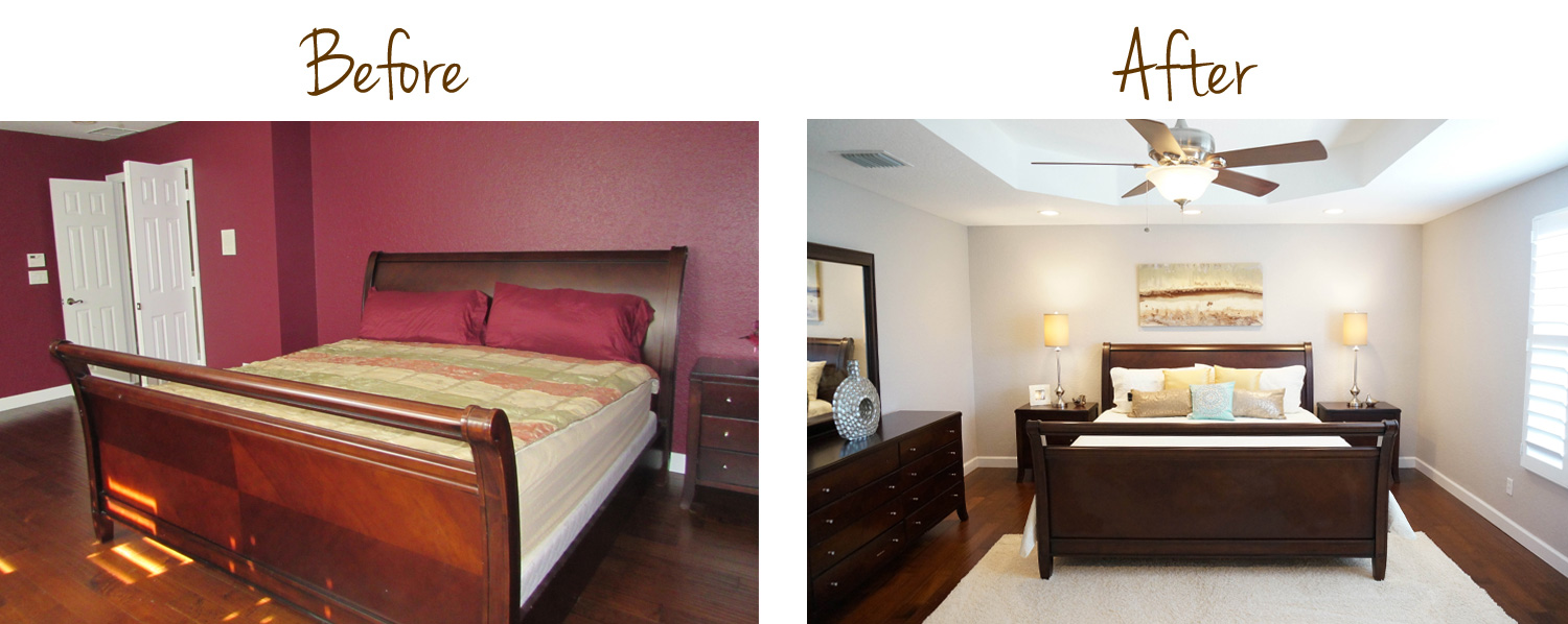 Master Bedroom Interior Redesign, View 2