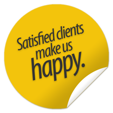 Satisfied clients make us happy.