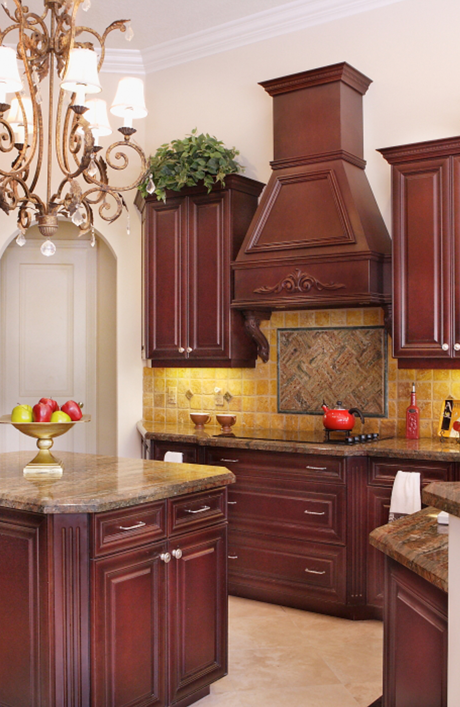 Kitchen home staging project by Captiva Design