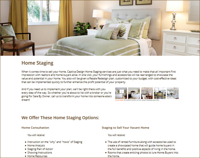 Click to learn more about our Home Staging services.