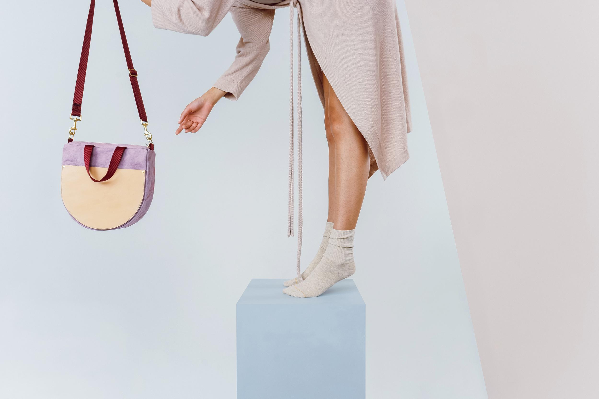 Semicircle Handbag