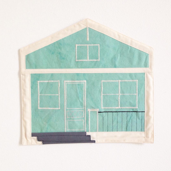 Julia Gabriel Fabric Painting