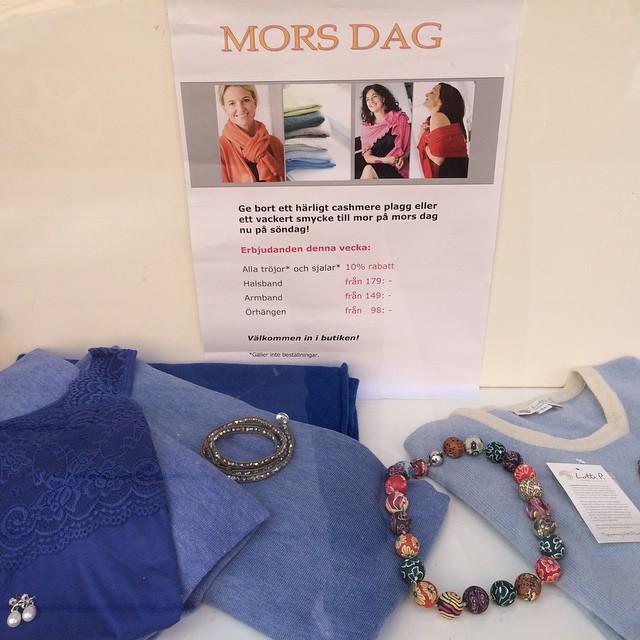 Mother's Day on Sunday💏😍 #cashmere #sweden #stockholm  #vasastan #birkastan #morsdag