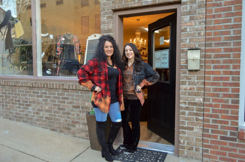 Pictured: Vanessa Williams and Jeanetta Harris, owners of Spanish Gypsy Boutique