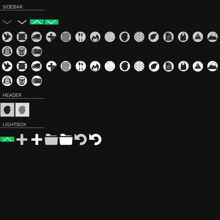 50x50x Icon Sheet