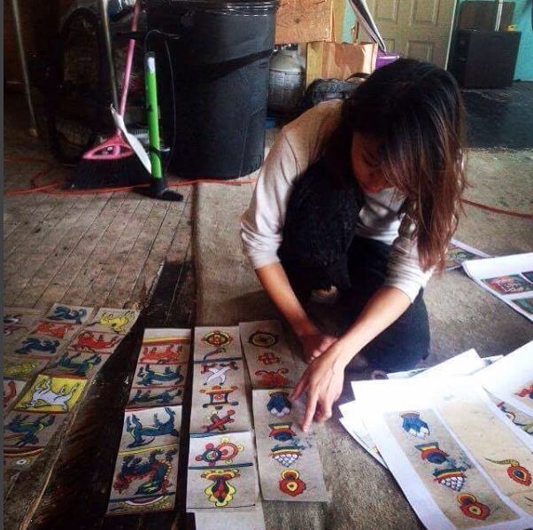Cut+paste Dabba banners at the Bell Foundry (photo by Que// IG: bmorealien)
