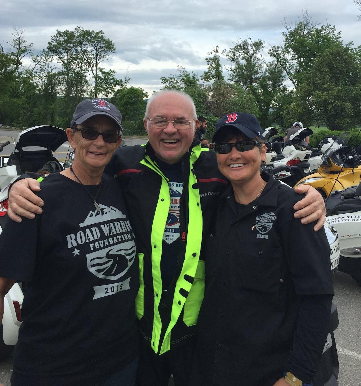 Kim Benoit, Hal, &Kathy Champion