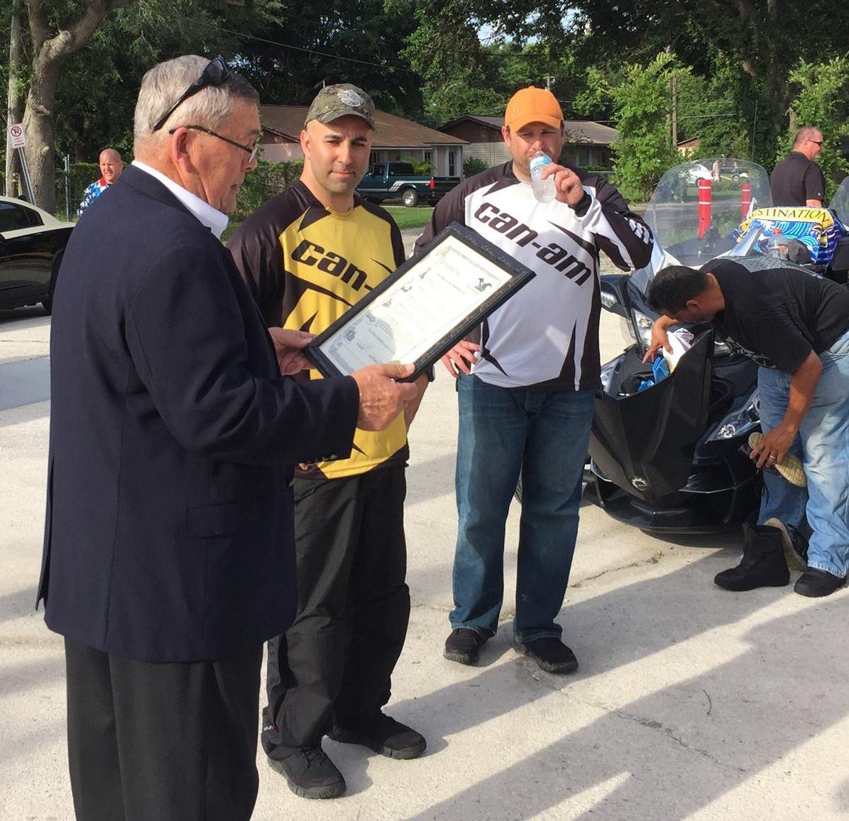 Kissimmee FL mayor, Craig Anders, & Steve Berger