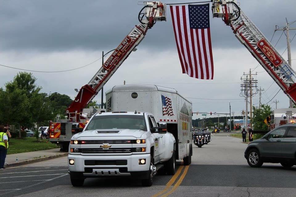 Click for more info on the Vietnam Wall Escort