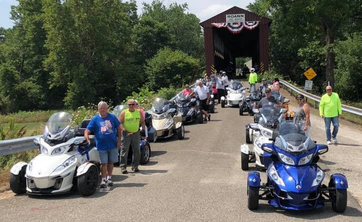 GROUP RYDE WITH NORTH CENTRAL INDIANA CHAPTER