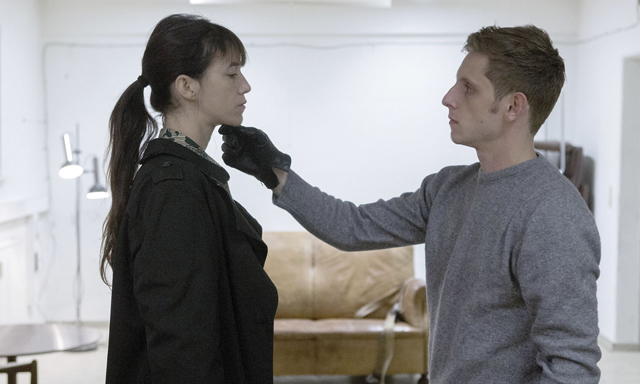 Charlotte Gainsbourg and Jamie Bell in Nymphomaniac Vol  II