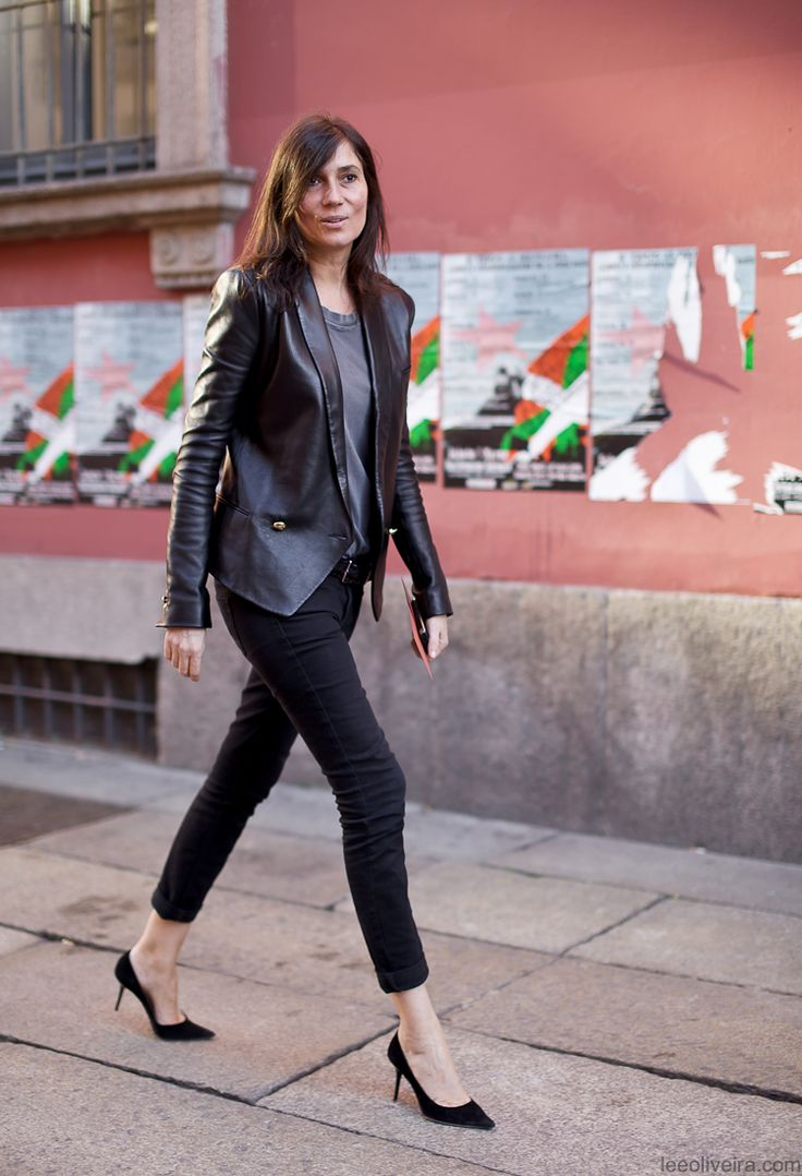 emmanuelle-alt-style-leather-blazer