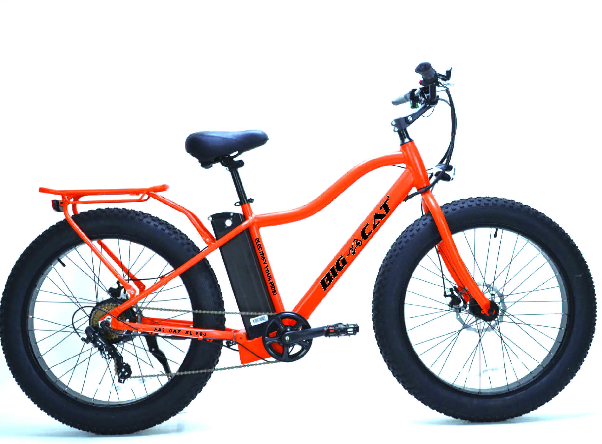 fat cat xl 500 electric fat bike