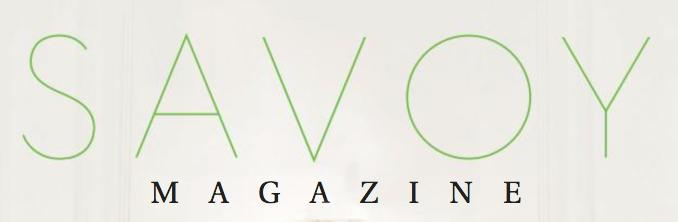 Savoy Magazine, April 2016