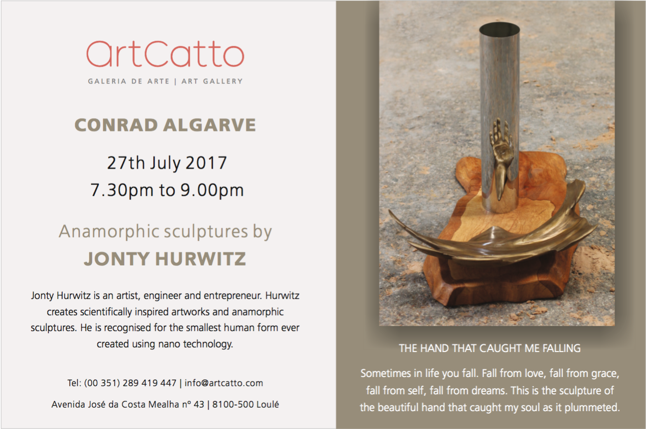 Showing ArtCatto Gallery at the Conrad Algarve, Portugal — Art of