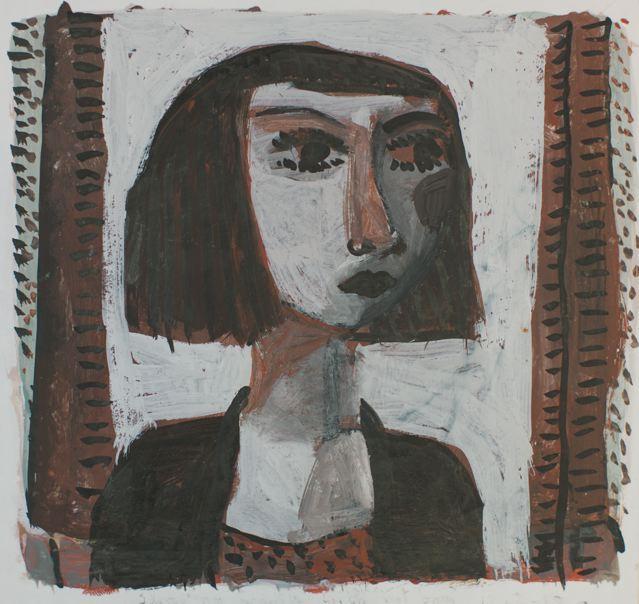 Girl with window I
