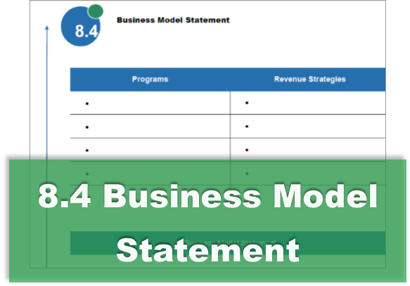 8.4 Business Model Statement