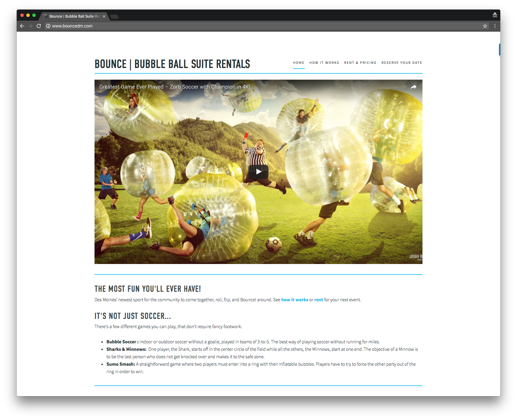 Bounce | Bubble Ball Suits