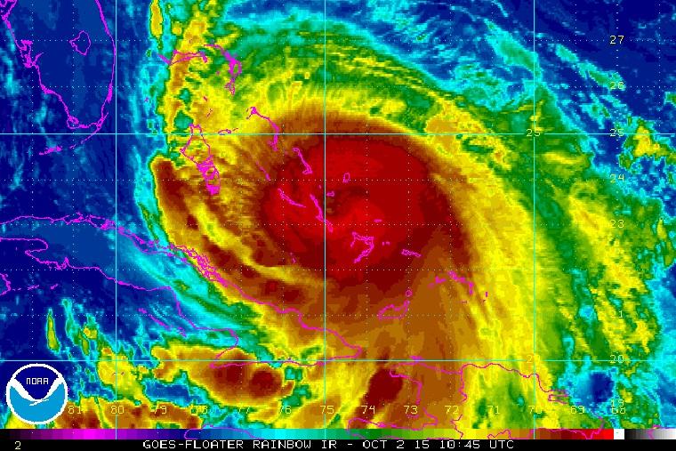 Hurricane Joaquin - October 2, 2016
