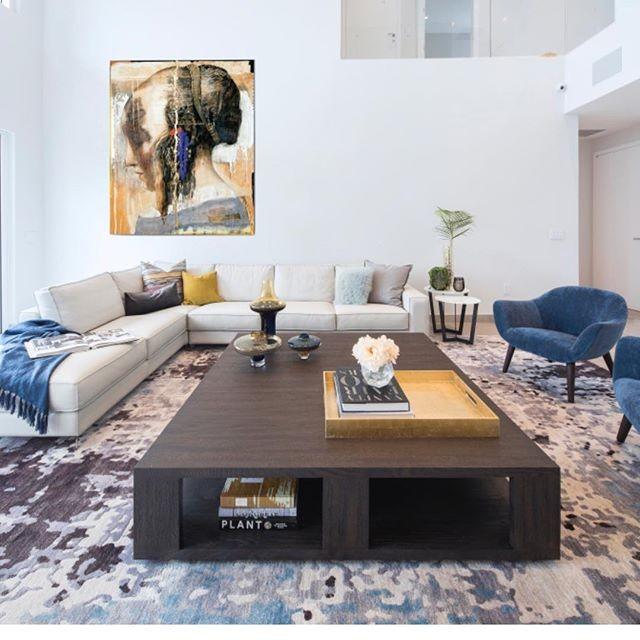 Playing with neutrals in this beautiful comfy and yet formal living room.  #agsiadesigngroup #moderninterior #modernhouses #interiordesign #aventuradesigners #goldenbeachdesigner #sunnyislesdesigner #miamiinteriors #miamidesigners #restorationhardware #addisonhouse #westelm