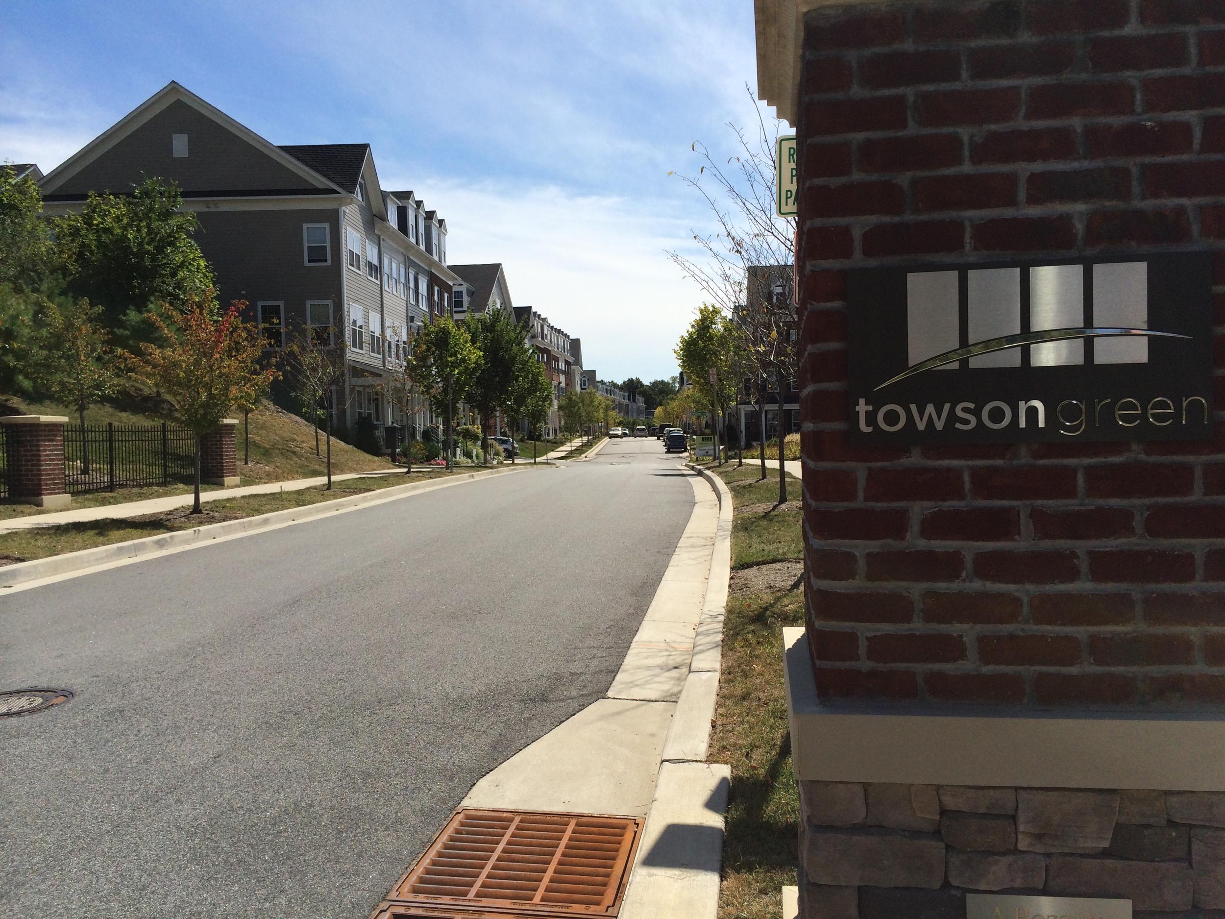 Towson Green Development Located in TMV
