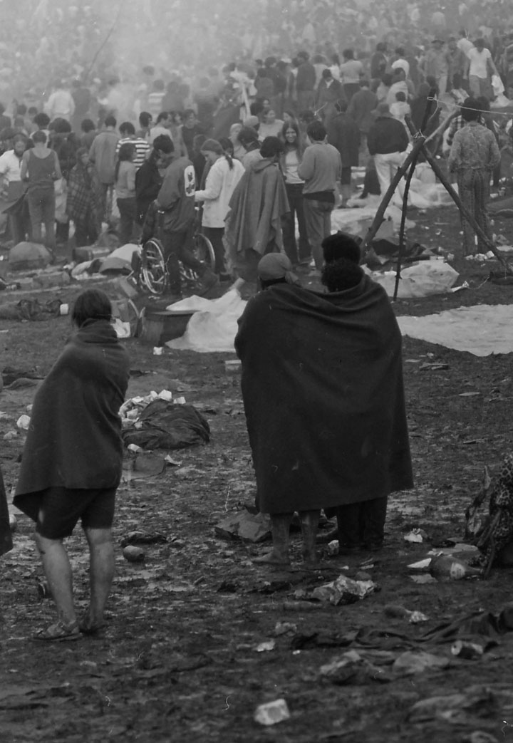 Woodstock August 15, 1969 •  Wikimedia Commons