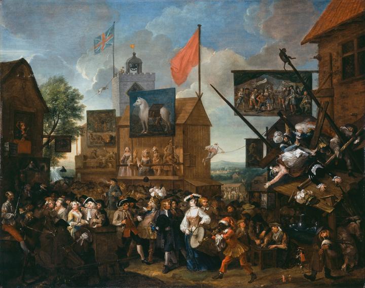 Southwark Fair 1733 •  Wikimedia Commons