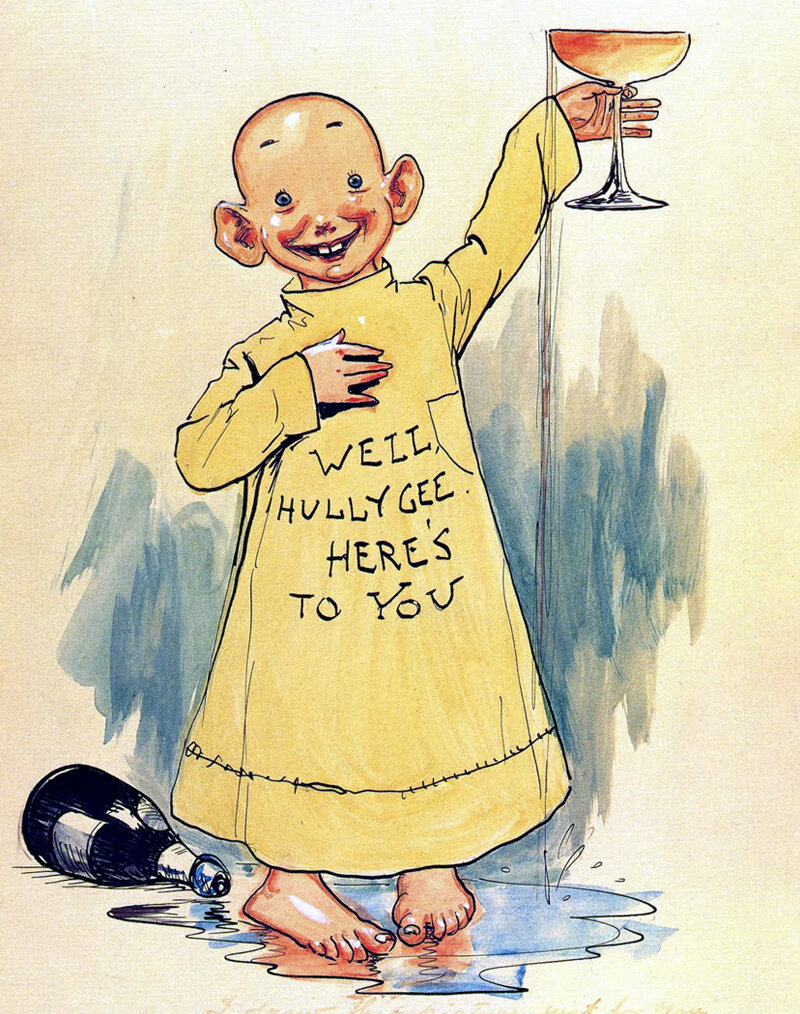 The Yellow Kid * , published by both  New York World  and  New York Journal  •  Wikimedia Commons
