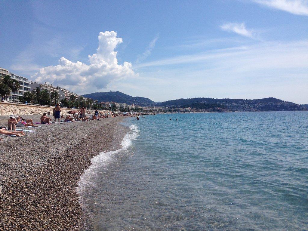 Beaches in Nice