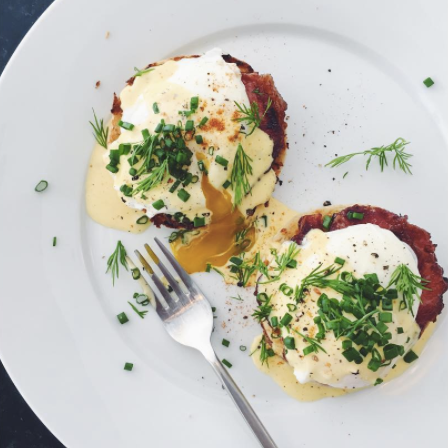 EGGS BENEDICT - NEW YORK TIMES