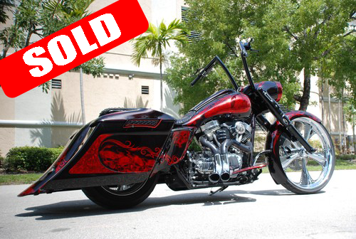 Red Etched 2012 Road King