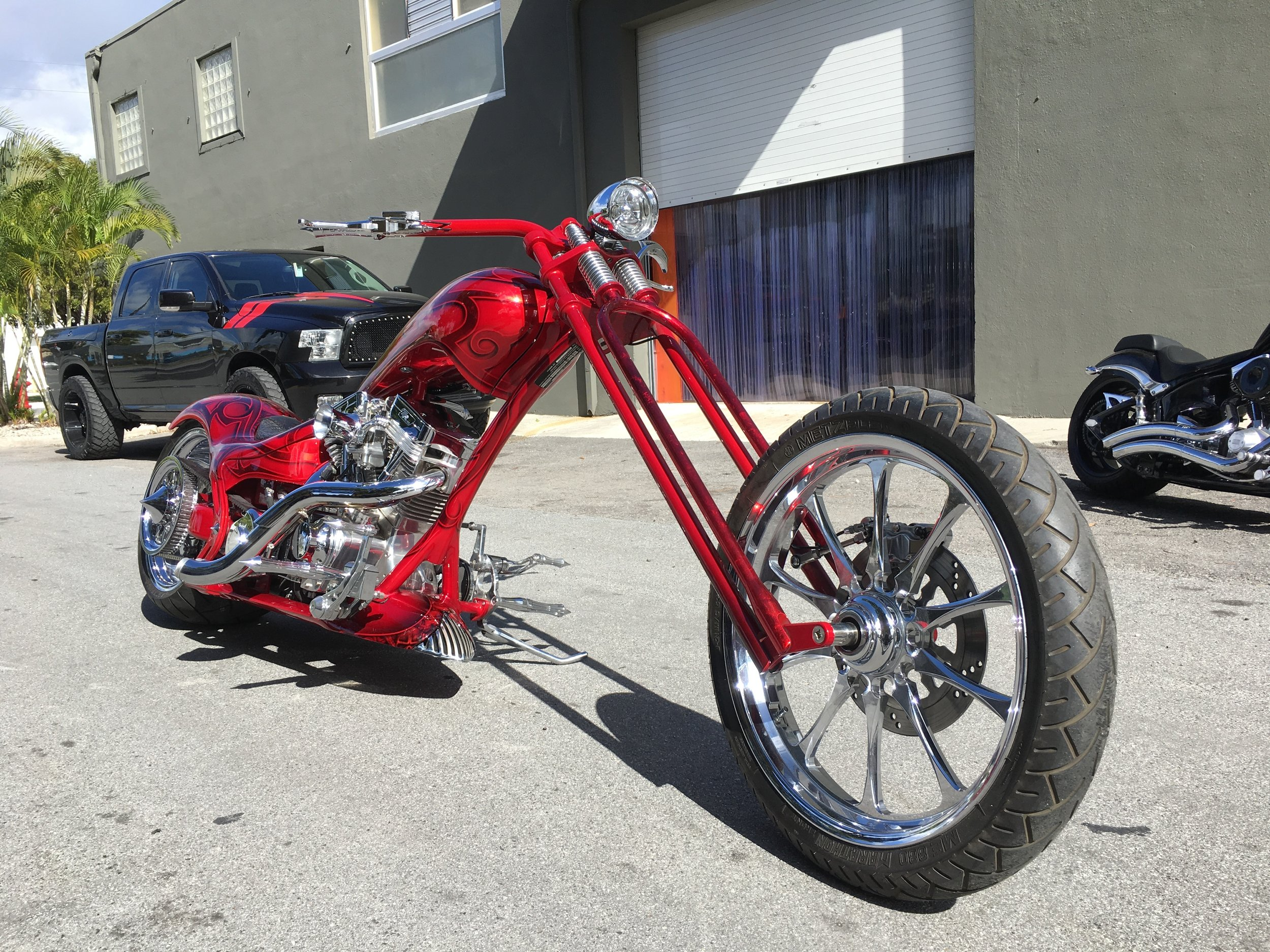 2007 Thunder Cycle Drop Seat Single Side Softail
