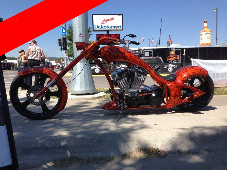 Tangerine Rigid Chopper