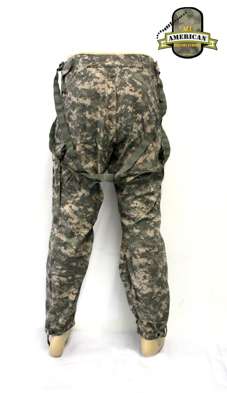 GEN III Überzugshose mit Trägern ACU Trousers Soft Shell Cold Weather