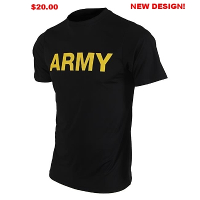 ARMY PT SHIRTS SHORT SLEEVE