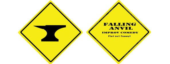 Falling Anvil Postcard