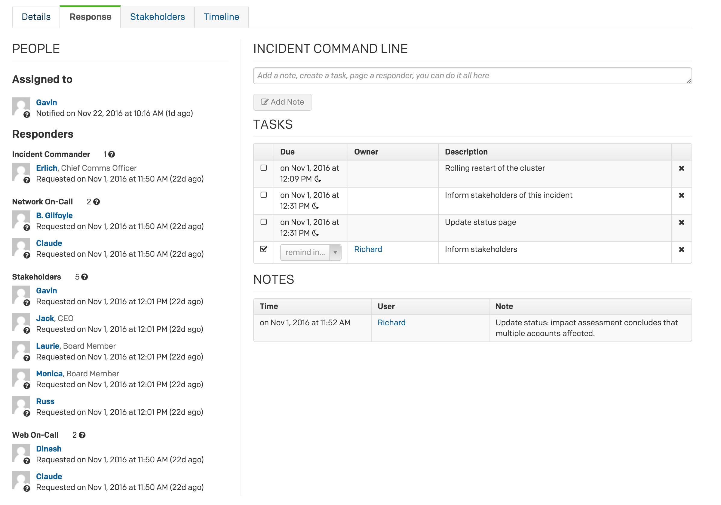 Mobilizing an Incident Response - PagerDuty