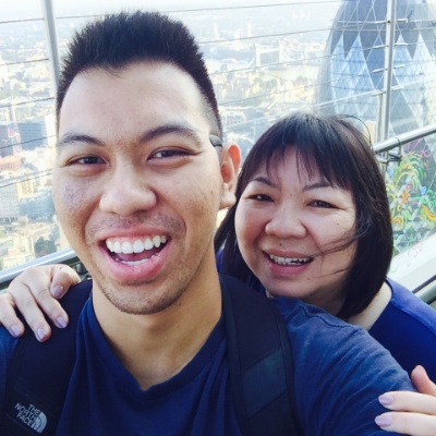 40 stories above London!